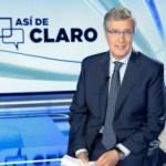 TVE cancela el programa de Sáenz de Buruaga, 'Así de claro'