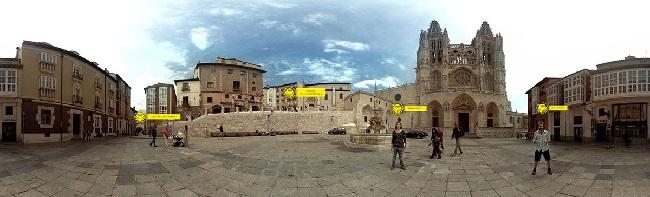 Camino Santiago 360 app