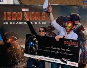 Iron Man 3 concurso