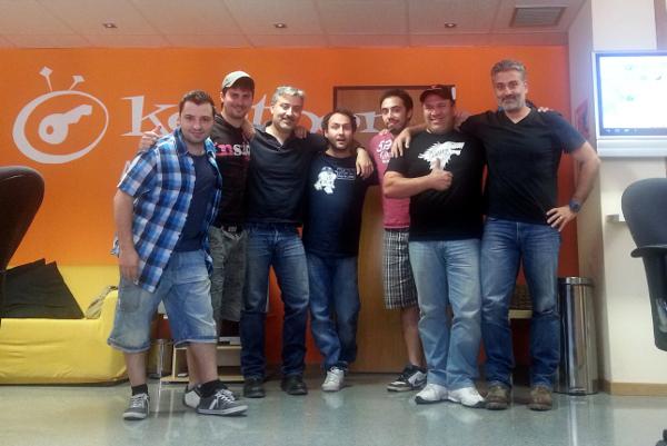 Keytoon equipo