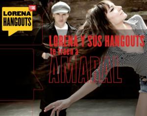 Lorena y sus hangouts