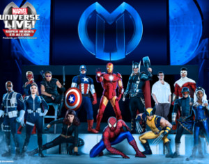 Marvel live Barcelona