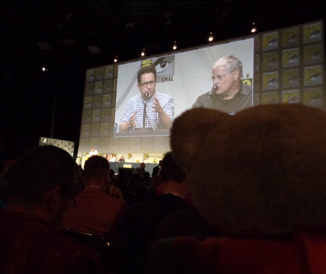 Raimundo Hollywood JJ Abrams ComicCon 2015