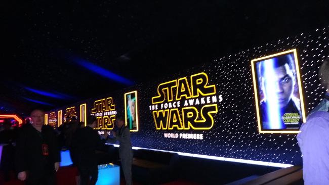 Raimundo Hollywood Star Wars 2015 6