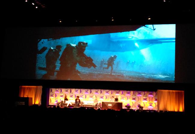 Raimundo Hollywood Star Wars Celebration 2015 escenario 2