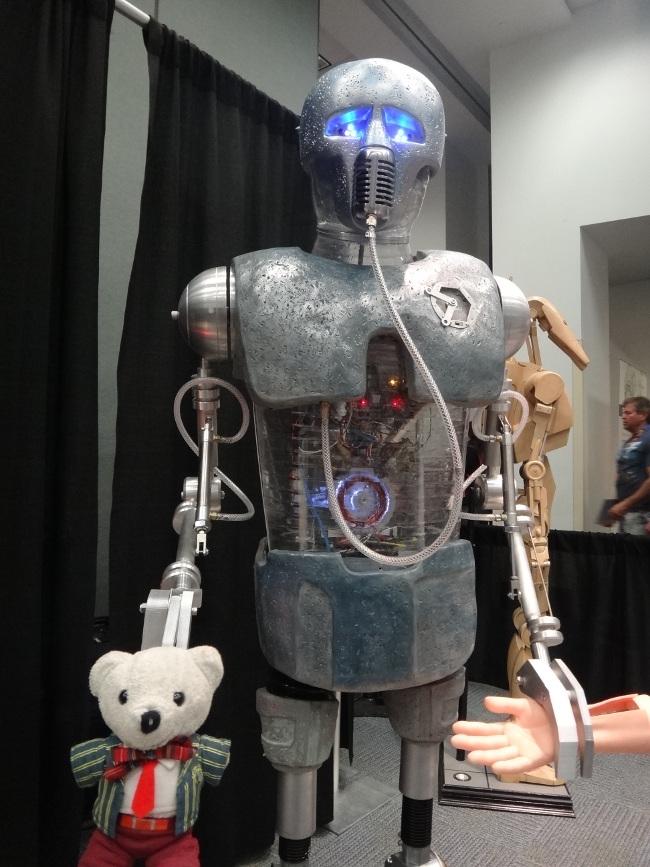 Raimundo Hollywood Star Wars Celebration 2015 robot