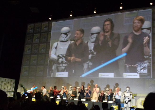 Raimundo Hollywood Star Wars cast ComicCon 2015