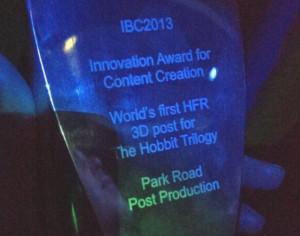 SGO Park Road award IBC 2013
