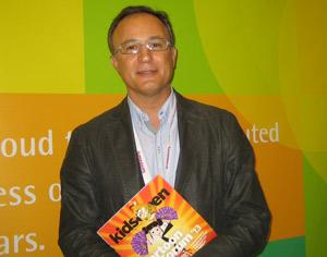 Sergi Reitg, CEO de Imira Entertainment, en Cartoon Forum 2013.