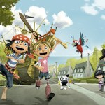 Clan emitirá las series europeas de animación 'The Pirates Next Doors' y 'Mirette Investigates'