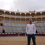 'Wild Frank' graba por primera vez en España y analizará la tradición taurina