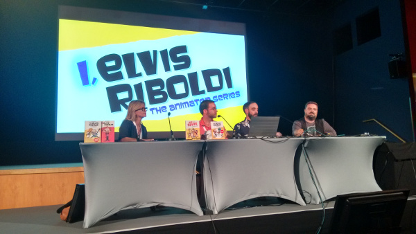 Yo Elvis Riboldi Cartoon Forum 2014