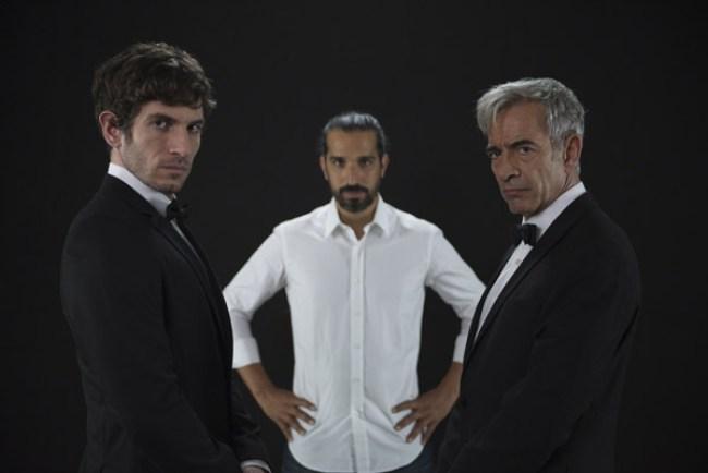 Quim Gutiérrez, Javier Ruiz Caldera e Imanol Arias