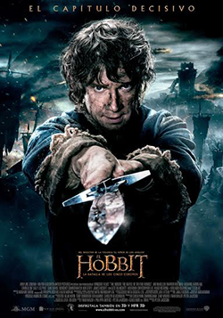 el hobbit poster