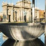 Una Estrella de la Muerte de Star Wars de dos metros de diámetro se imprime en 3D en Madrid