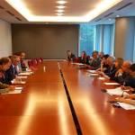 Guirao traslada a los eurodiputados el apoyo del Gobierno a la Directiva sobre Derechos de Autor en el Mercado Único Digital