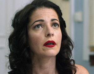 Nora Navas, en 'Tres mentiras'