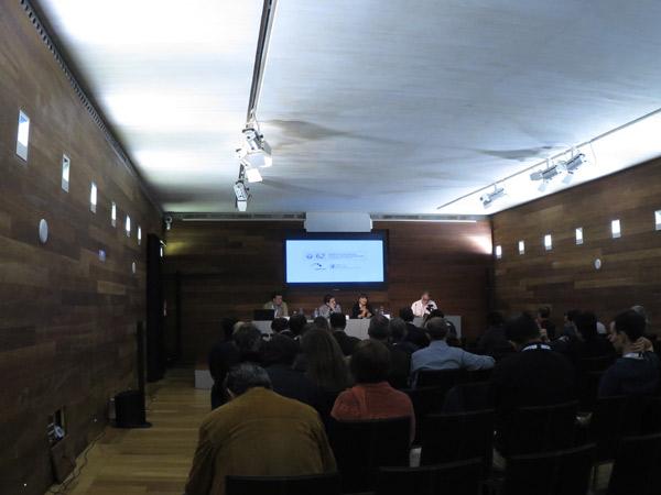 Presentación del informe en San Sebastián
