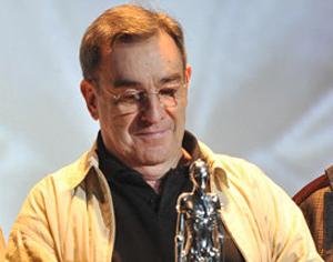 Pedro Olea, en un homenaje en el Festival de Sitges