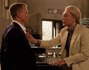 Daniel Craig y Javier Bardem, en 'Skyfall'