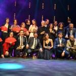 Los repartos de 'El autor' y 'No sé decir adiós' triunfan en los XXVII Premios Unión de Actores