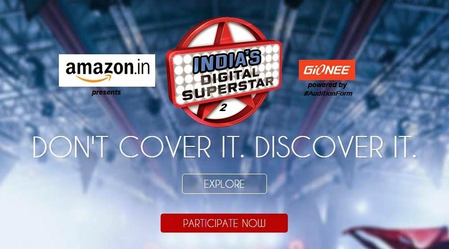 Indias Digital Superstar 2017 Auditions & Online Registration Details