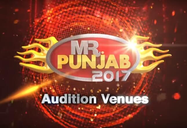 Mr. Punjab 2017 Auditions Date, Venues, City and Registration Details