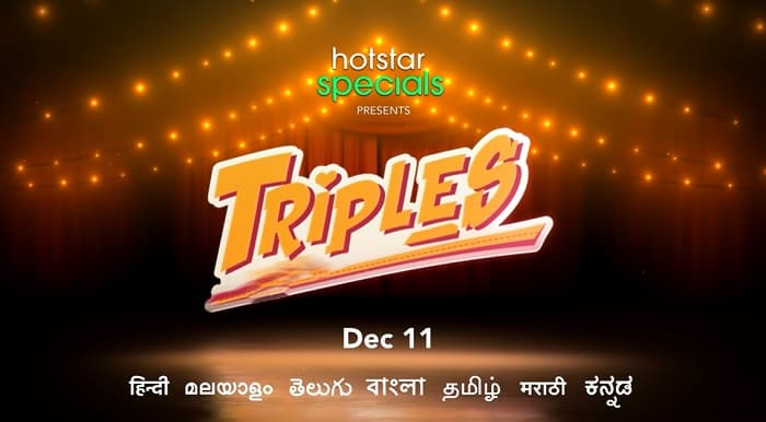 Triples Hotstar Release Date, Cast Name, Storyline, Where to watch Free