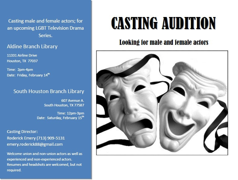 how to audition for reality tv shows