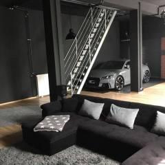 Babbo Natale, vorrei un garage così…