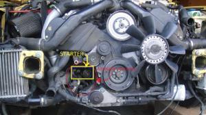 B5 S4 Starter Replacement  AudiWorld Forums