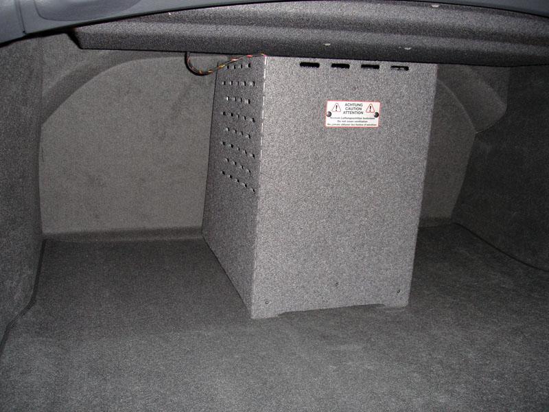 Refrigerator Retrofit Into A6