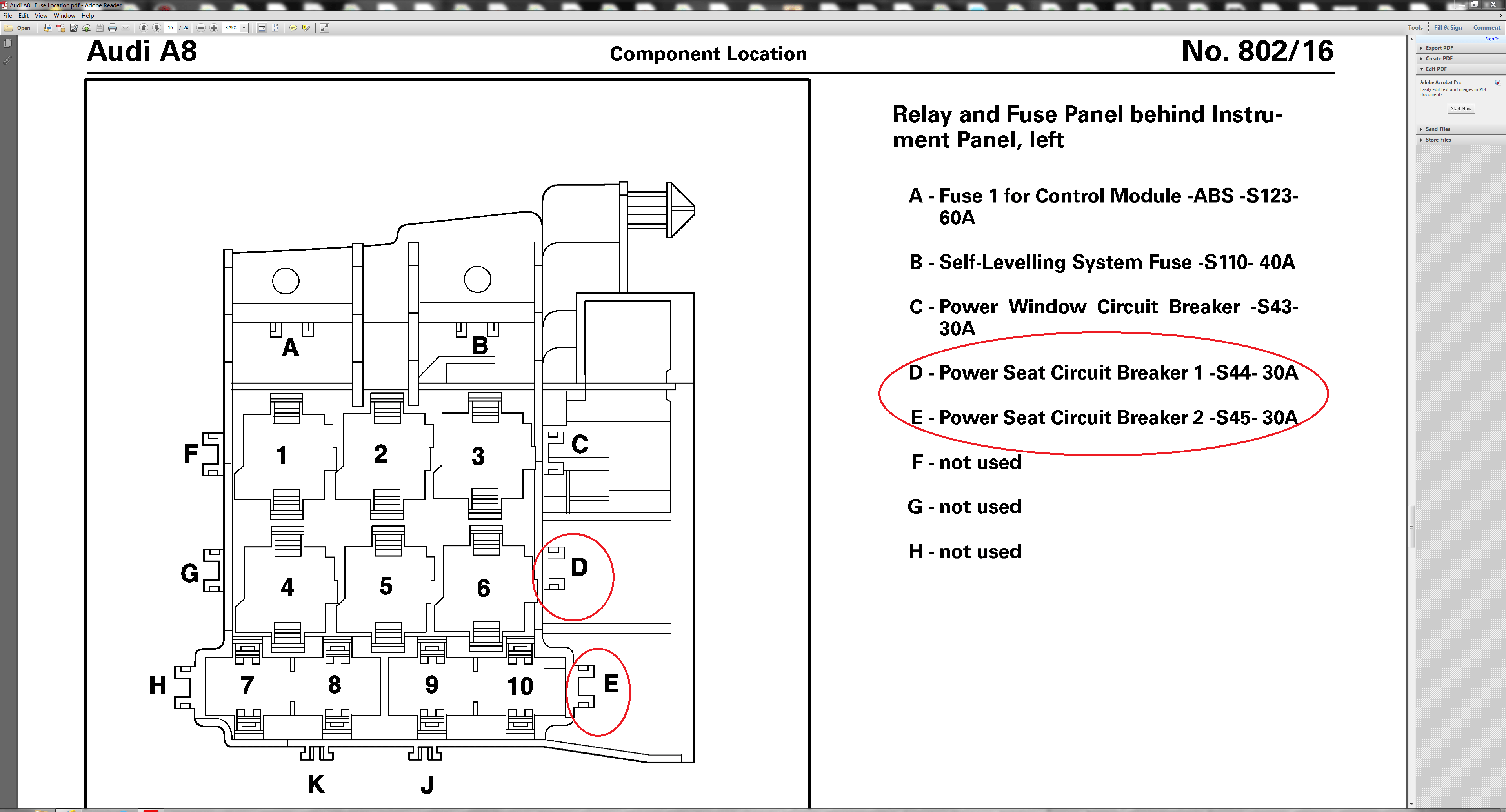 Audi A8 Wiring Diagram
