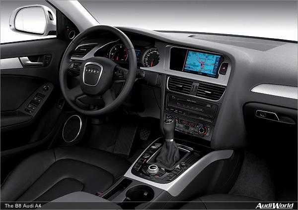 The Audi A4 Interior Audiworld