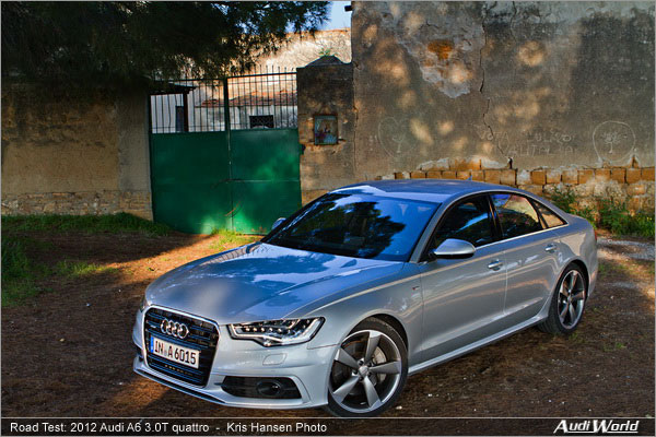 2012 Audi A6 Road Test - AudiWorld Audi A T Quarttro on