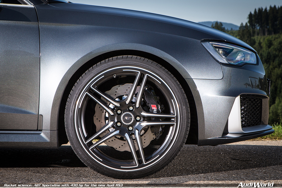 Rocket science: ABT Sportsline with 430 hp for the new Audi