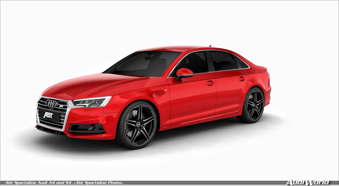 Abt Upgrades For The 2018 Audi A4 And S4 Sedan Audiworld
