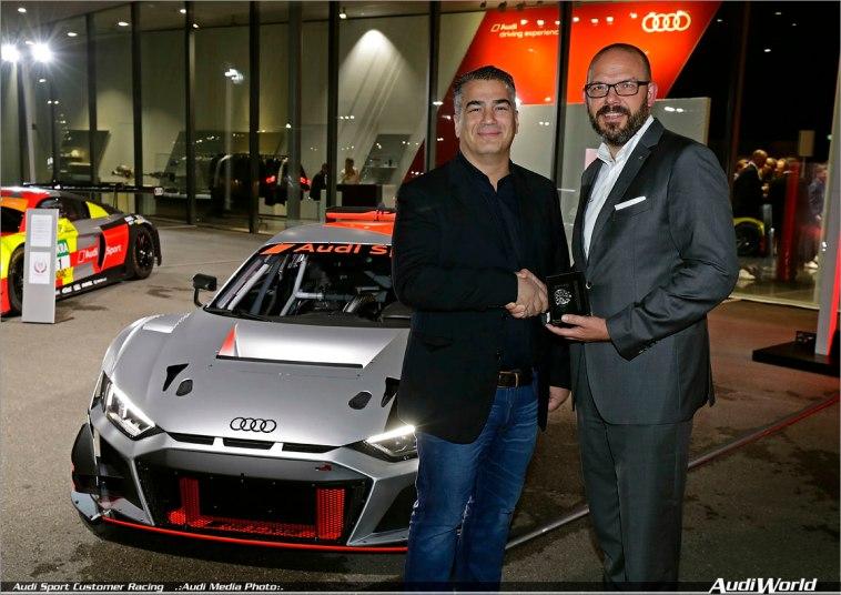 Audi Sport customer racing Race Night 2018