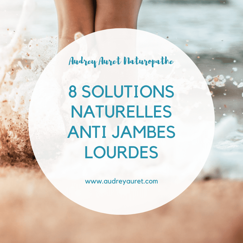 Solutions anti jambes lourdes