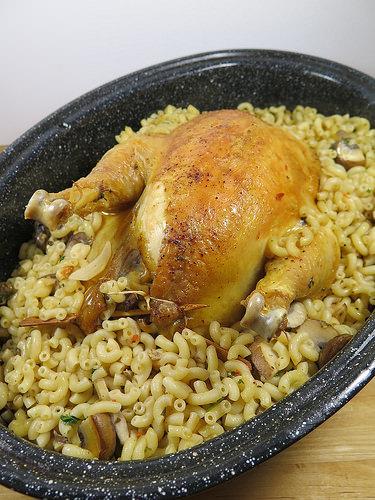 poulet au foie gras