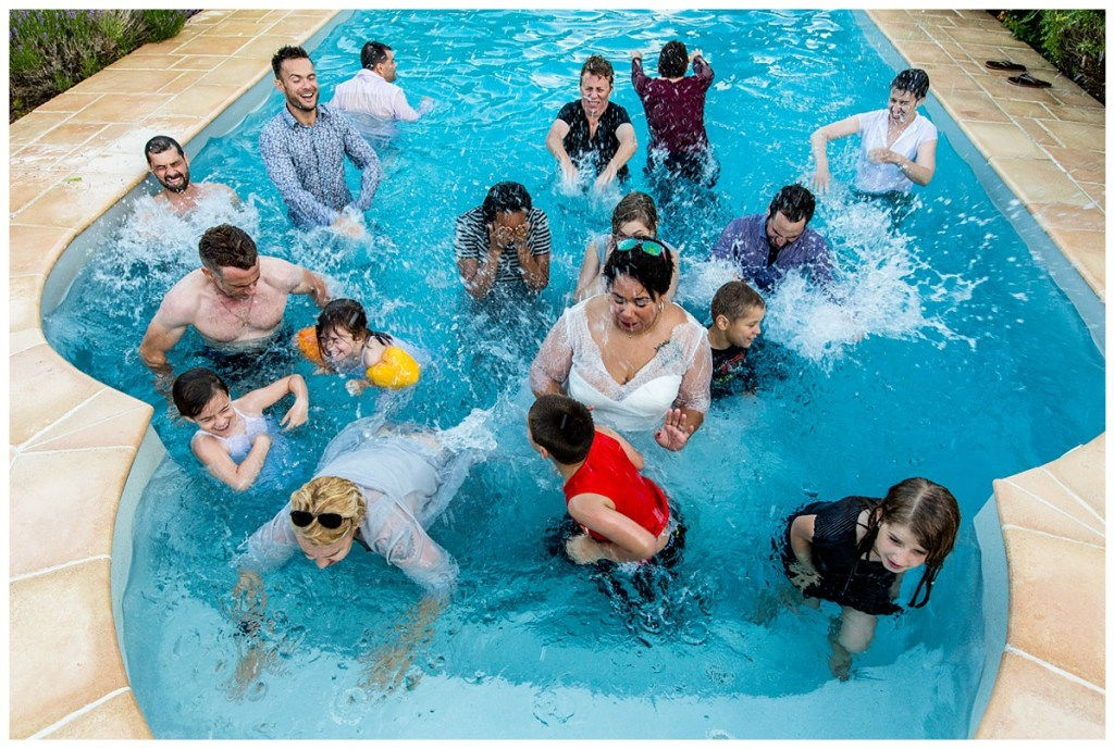 groupe mariage piscine