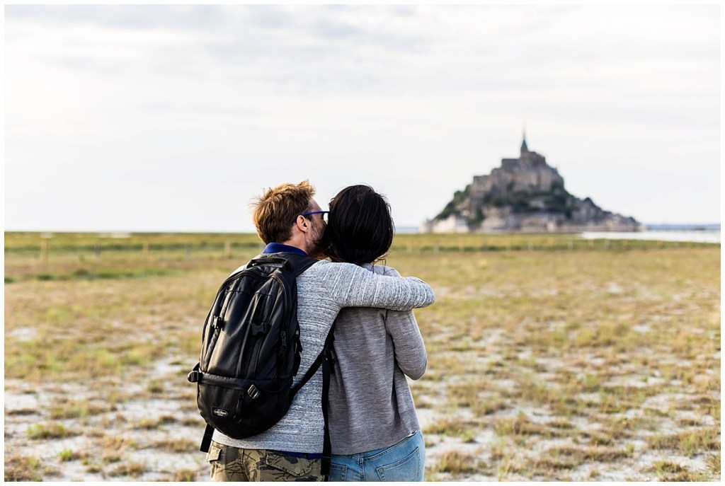 couple au mont saint michel