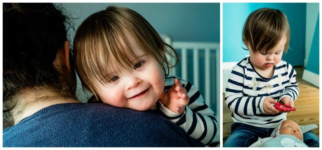 audrey guyon, photographe handicap en normandie a participé au shooting national sur la trisomie 21