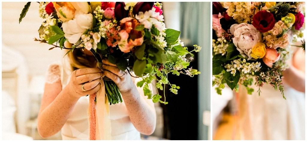 bouquet de mariée par freya joy