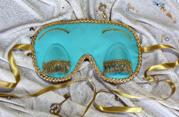 Audrey Heoburn Sleep Mask Breakfast At Tiffany's