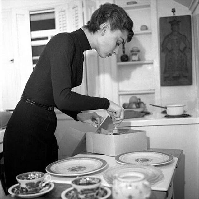 Audrey Hepburn Cooks