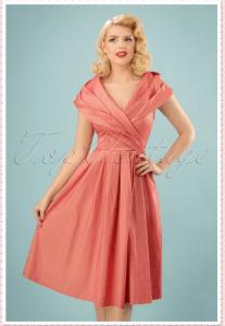 Rose dress Audrey Hepburn