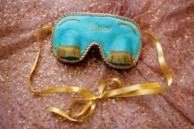 Audrey Hepburn Breafast at tiffany's sleep mask