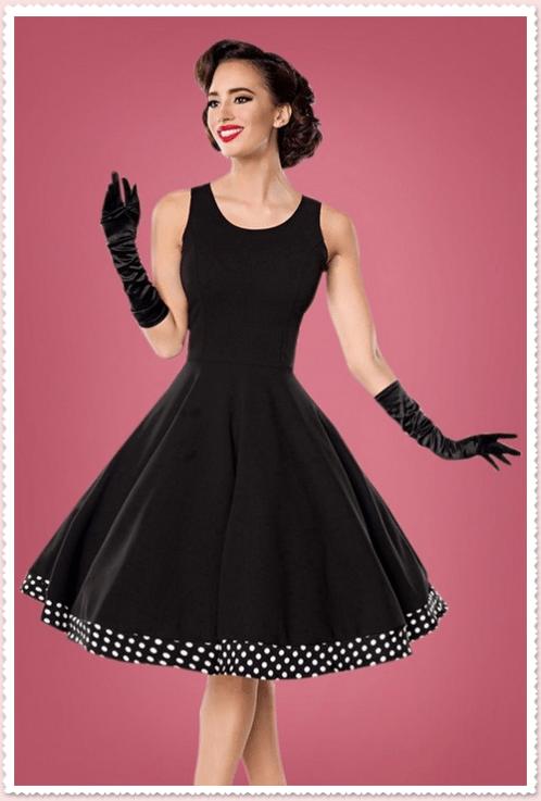 Audrey Hepburn polka dot dress