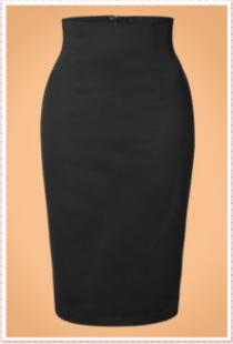Black Pencil Skirt Audrey Hepburn